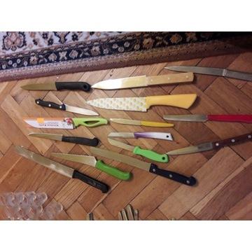 Sztućce noże kuchenne różne
