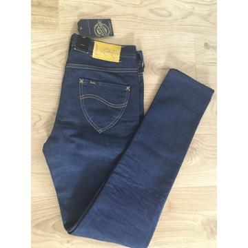 Dżinsy spodnie Lee Skinny Slim W29 L33 Nowe