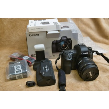 Canon 6D mII grip BG-E21 i obiektyw 35mm f2 IS