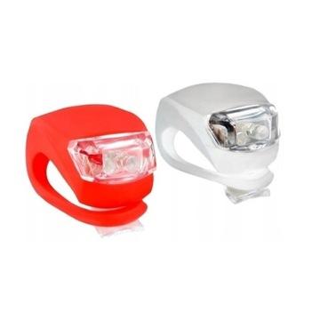 Lampki rowerowe LAMPKA ROWEROWA LED +Gratis