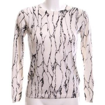 Whistles -Sweterek w czarny abstrakcyjny wzór__38