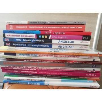 Książki do języka angielskiego