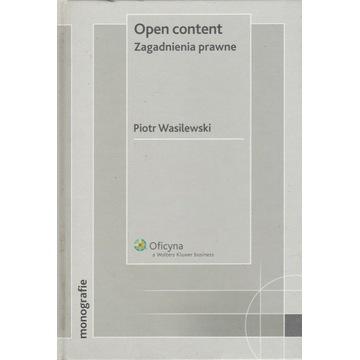 Open content Zagadnienia prawne |Piotr Wasilewski