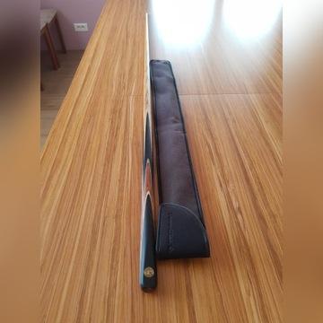 Kij snooker dwuczęściowy POWERGLIDE Axas 145 cm