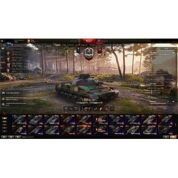 Konto World Of Tanks 31X(OB907)18premekVIII(1570WN