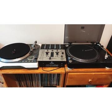 Gramofony, pionier plx 500,numark ttx,mikser dx052