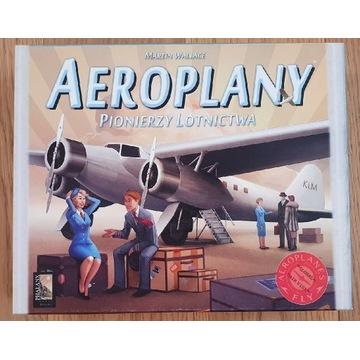 Gra planszowa Aeroplany. Pionierzy lotnictwa