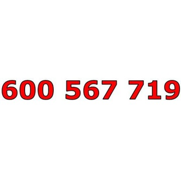 600 567 719 T-MOBILE ŁATWY ZŁOTY NUMER STARTER