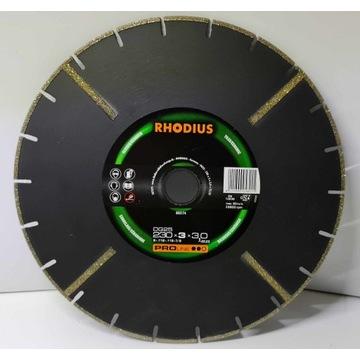 Rhodius Diamentowa tarcza tnąca 230 x 22,23 x 3 mm