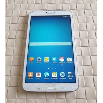 "Samsung Galaxy Tab 3 SM-T310 8"" WiFi zbita szybka"
