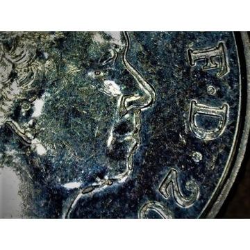 5 Pence 2012-Anglia--Duży  Błąd Menniczy.