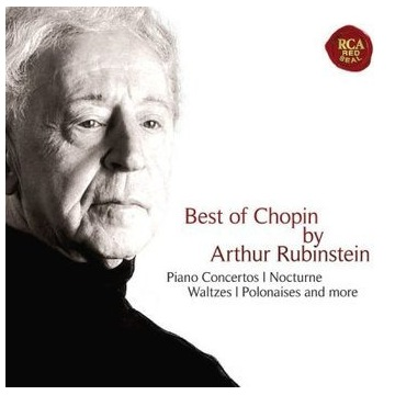 The Best Of Chopin By Arthur Rubinstein