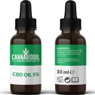 Olej CBD 5% pełne spektrum