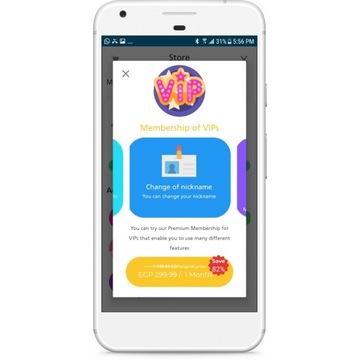 Aplikacja Android Losowe wideo premium, randki