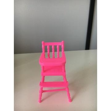 krzesełko do karmienia dla dziecka Barbie