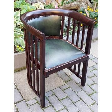 Piękny stary fotel Jacob & Josef Kohn skóra !!!