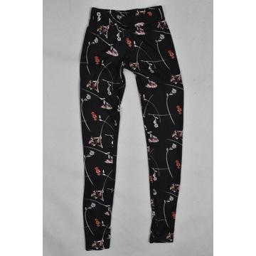 Spodnie legginsy H&M rozm. XS