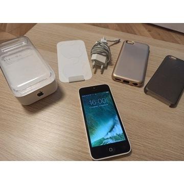 Apple IPHONE 5C stan bdb-, bez simlocka, zestaw