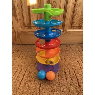 Zjeżdżalnia dla piłek , zabawka sensoryczna
