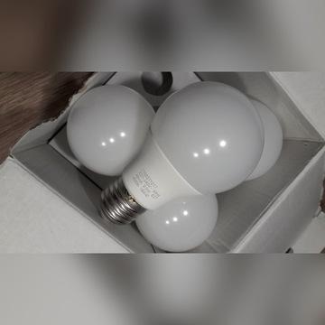 ŻARÓWKI LED LAP 4 szt. NOWE E27 9.5W = 60W 4000K