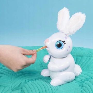 Zoomer króliczek do karmienia Interaktywny