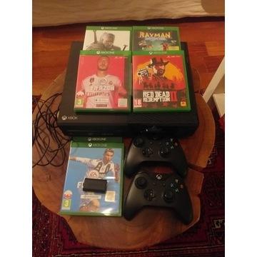 Xbox one MEGA ZESTAW 2 pady (RDR2,Fifa20,Wiedzmin)