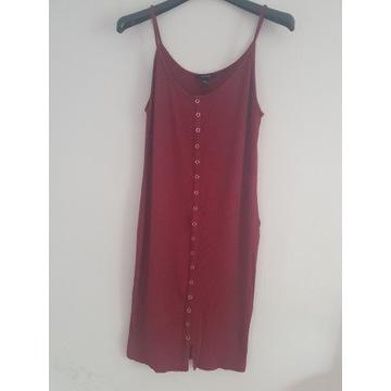 Bawełniana sukienka Forever 21 rozm. L