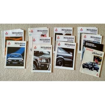 Prospekty samochodowe Mitsubishi 1991-95