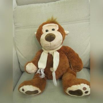 Pluszowa małpka WIKY. Stan idealny. Wys. 40 cm.