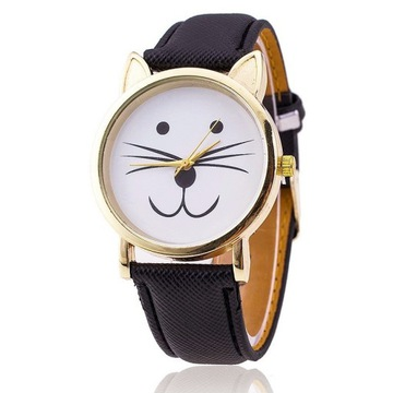 Oryginalny prezent - koci zegarek :)