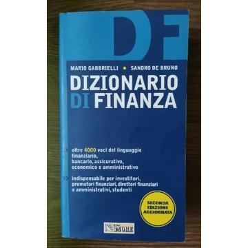 Slownik finansowy Dizionario di finanza włoski