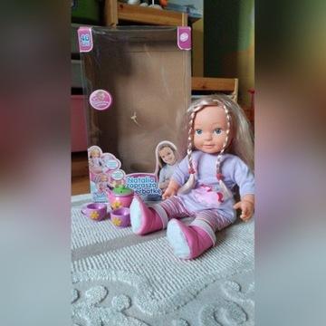 Lalka Natalia interaktywna zaproszenie na herbatke