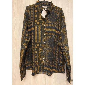 Nominal Paisley Overshirt - Koszula XL