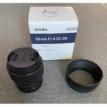 Obiektyw Sigma 56mm F1.4 DC DN