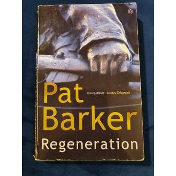 "Książka po ang ""Regeneration"" Pat Barker"