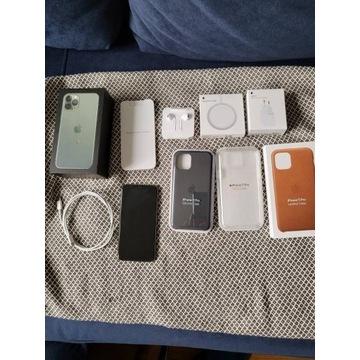 iPhone 11 PRO 64GB Nocną zieleń| BAT - 98%