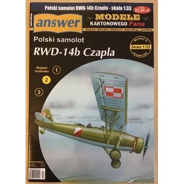 RWD 14B Czapla Answer