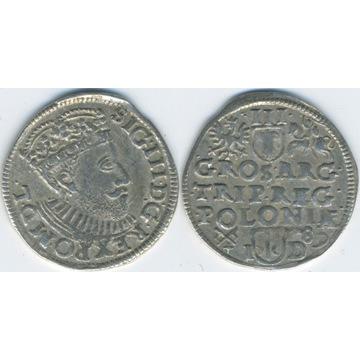 Trojak Poznań 1589 ID - BARDZO ŁADNY