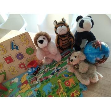 Zabawki edukacyjne drewniane