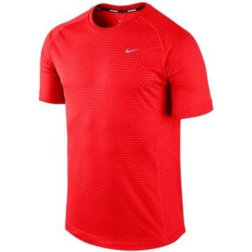 Jak nowa koszulka męska Nike running dri-fit r. S