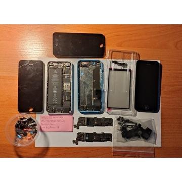 Części Iphone 5C |Płyta główna, bateria, LCD