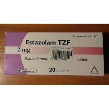 Estazolam TZF 2 mg 17 tabletek lek na bezsenność