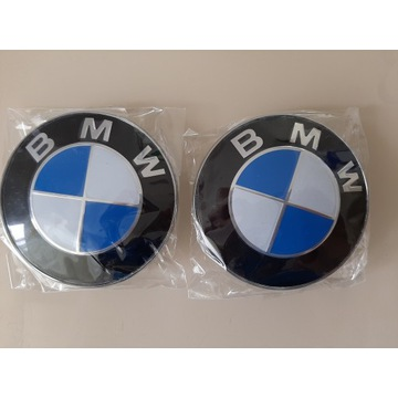 Emblematy BMW na maskę/bagażnik *82mm*
