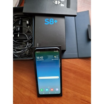 Samsung Galaxy S8+ plus Coral Blue