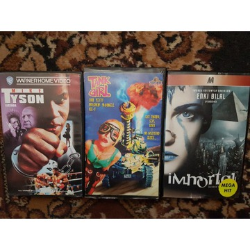 Immortal, Tank Girl, Dick Tracy, inne - VHS,LEKTOR