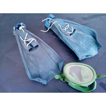 Sprzedam płetwy i maskę do nurkowania