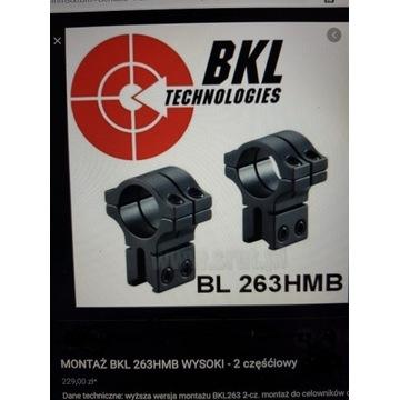 Montaż dwuczęściowy wysoki BKL BL263HMB 1/11