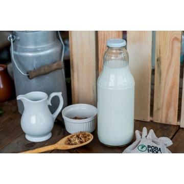 Świeże mleko kozie sery twarogi jajka Ekologiczne