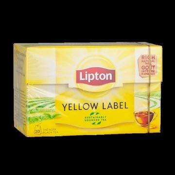 lipton yellow label herbata 20szt.