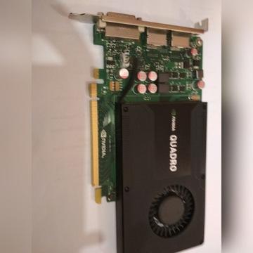 nVidia QUADRO K2000 2GB 128bit GDDR5